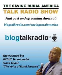 Saving Rural America Talk Radio Show Ad