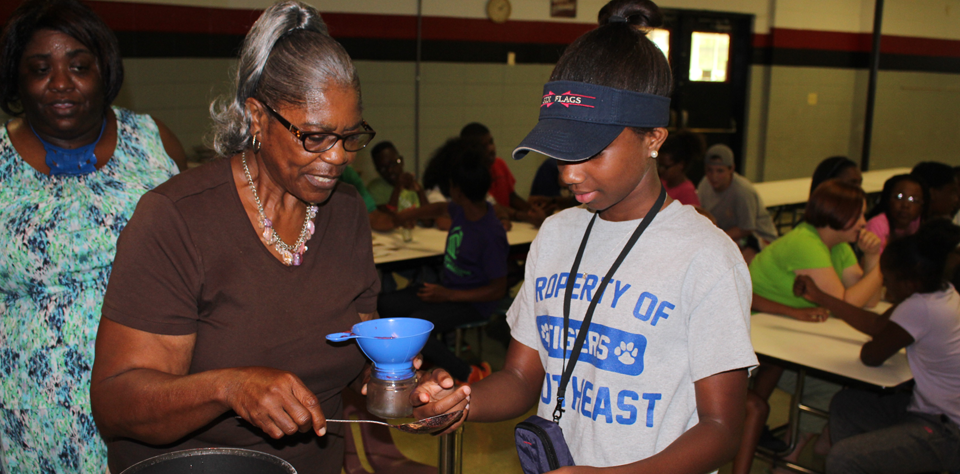 Boys and Girls Club of East Mississippi Canning Workshop