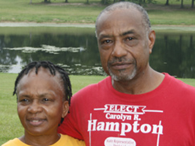 Carolyn and Charles Hampton