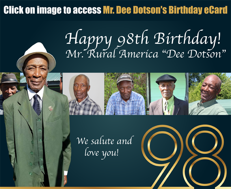 One of America's Oldest Active Farmer will celebrate his 98th Birthday on February 23, 2021